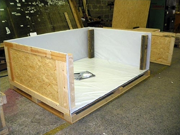 Battened cases for automotive industry