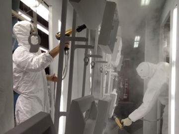 Sub Contract Powder Coating Services in Kent