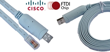 Cisco Console FTDI USB to RJ45 Cable