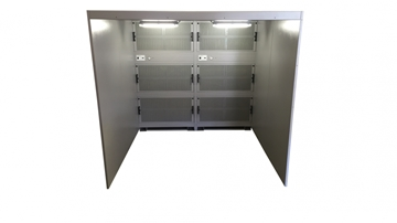 Walk In Dust Extraction Booths