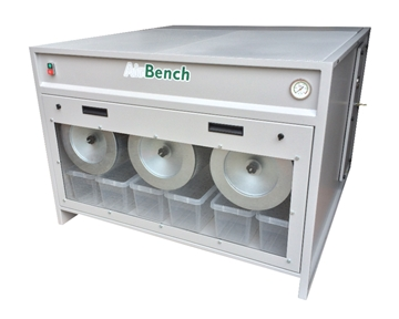 Downdraught Bench With Self Cleaning Filters