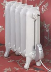 Electric Sloane Cast Iron Radiator