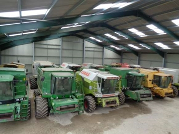 Used Combines for hire