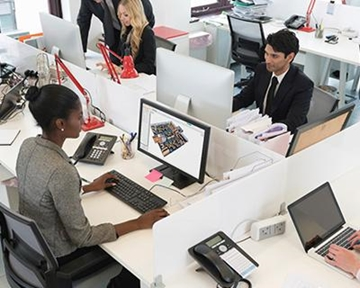 Drive greater utilisation with flexible desk booking