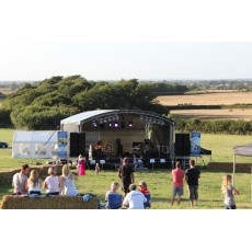 Arc Roof Stage Hire