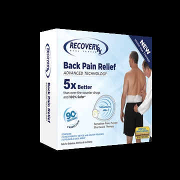 RecoveryRx® Back Pain Relief Therapy Device