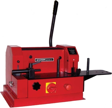 Bench Mount Cut Off and Hose Skiving Machine