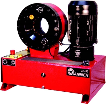 Large Bore Tabletop Swaging Machine