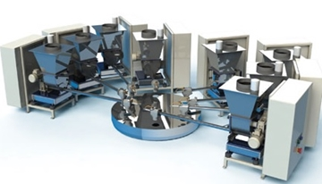 Loss in Weight Batch Weighing Feed System