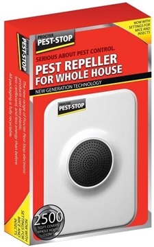 Ultrasonic/Electromagnetic Pest Repeller for Whole House
