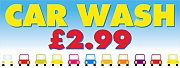 Car Wash / Parking Banners