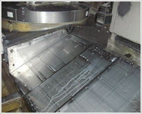 Steel telescopic bedway cover