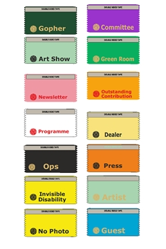 Gopher ribbons - and even more unusual slogans
