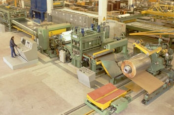 Manufacturing of coil processing