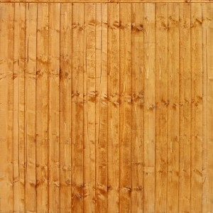 FRAMED CLOSEBOARD PANELS - GOLD