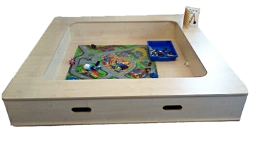 Small 2 Section Indoor Sand Pit
