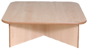 Low Square Play Table