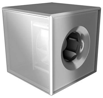 Backward Curved Centrifugal Fans - Square Duct Fans - UNOBOX