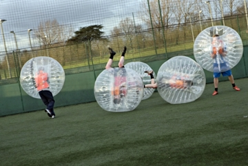 Zorb Football in the UK