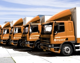 European freight services from Spain