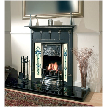 Clarke 'Berkeley' Cast Iron Fireplace