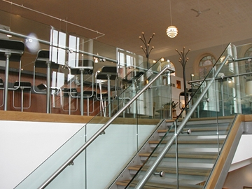 Balustrades & Staircases for Clubs