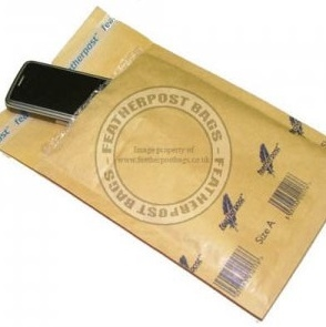 Featherpost Gold Bubble Lined Mailing Bags