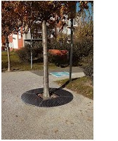 Ground Grating Covers For Trees