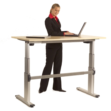 Benefits of sit stand desks on your posture and work health & wellbeing
