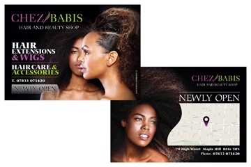 Double Sided Full Colour Leaflet Production