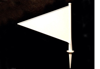 Boundary Marker Flags