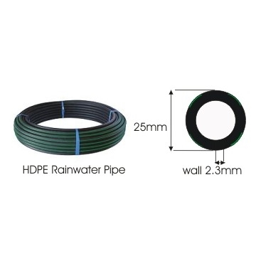 Rainwater Pipe 25mm 25m