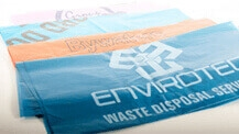 Coloured Waste Management Bags