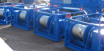 Adjustable Electric Winches