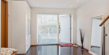 Bespoke Timber Doors with Transoms Design