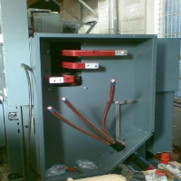 Compound filled Busbar Cable End Box