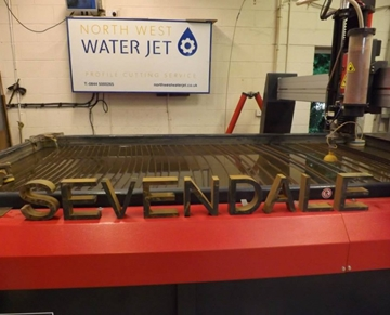 Intricate Waterjet Cutting Services