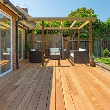 Mandioqueira Smooth Decking