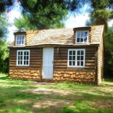 Cedar roof shingles and shakes