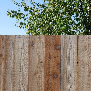 Western Red Cedar Fence Boards