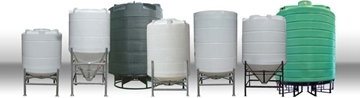 Cone Bottom Storage Tanks For Processing Plants