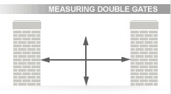 Double Gate Measurements