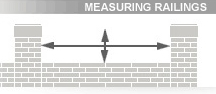 Bespoke Railing Measurements