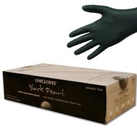 Unigloves Black Pearl Nitrile Gloves