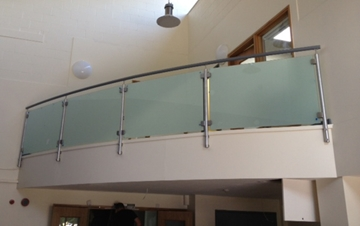 Medical Centre Antimicrobial Balustrades