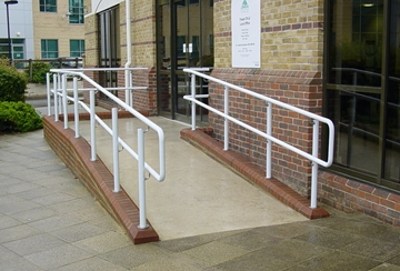 Warm to Touch DDA Compliant Handrails