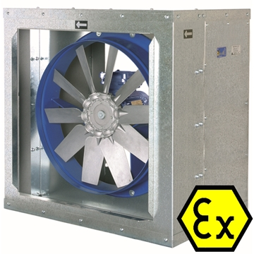 Smoke Extraction Axial Fans