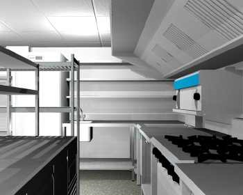 Commercial Kitchen Refurbishment for Care Homes