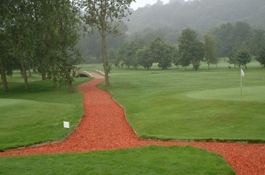 Recycled Woodchip For Golf Courses