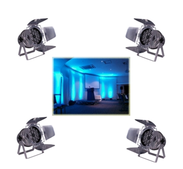 Corporate Lighting Hire